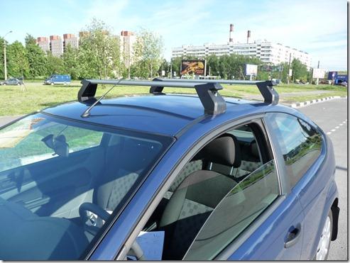 P1040549 thumb Как установить багажник на Форд Фокус 2?