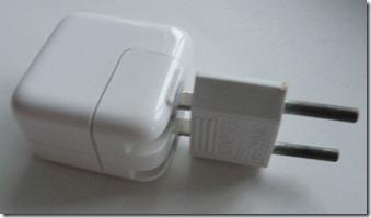 EUACPlug4 thumb Переходник для европейских розеток для iPad/iPhone из Китая