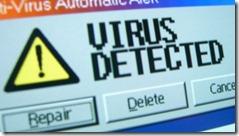 virus detected thumb Вирус использующий Exploit CVE 2010 2568 добрался до моей сети