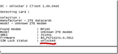 dcunlocker4 thumb Разблокировка 3G модема ZTE MF 180 от МТС