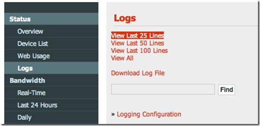 dir 320 logs thumb D Link DIR 320 прошивка для 3G модемов ZTE MF180 и Huawei E156G