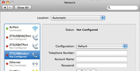 zte mf180 mac 3 thumb Драйвер 3G модема ZTE MF 180 МТС для Mac OS