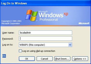 logon xp 1 thumb Вход в домен по умолчанию в Windows XP