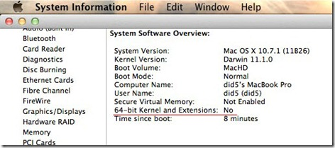 lion x32 1 thumb Как запустить OS X Lion в 32 битном режиме