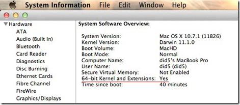 lion x32 2 thumb Как запустить OS X Lion в 32 битном режиме