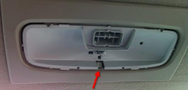 распиновка плафона освещения салона ford focus 3