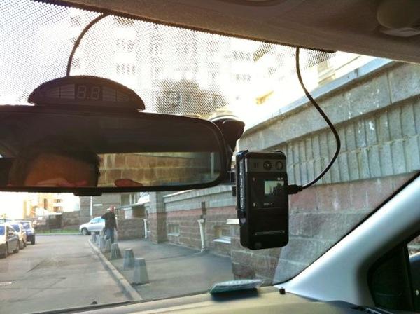 focus15 Питание видеорегистратора от плафона внутреннего освещения Форд Фокус 2