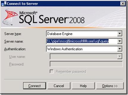 sql wsus 1 thumb Перенос базы и каталога WSUS на другой диск Windows Server 2008