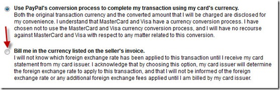 paypal 5 thumb Комиссии за конвертацию валюты в Paypal
