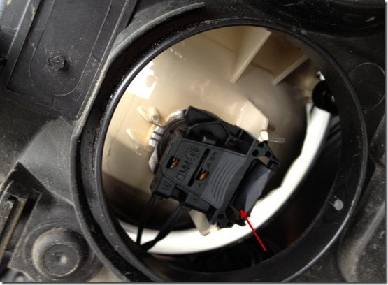 Замена лампочки ближнего света на Форд Фокус 2, Блог