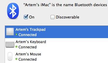 rename wireless apple device 3 Как переименовать беспроводную клавиатуру/мышь/тракпад Apple