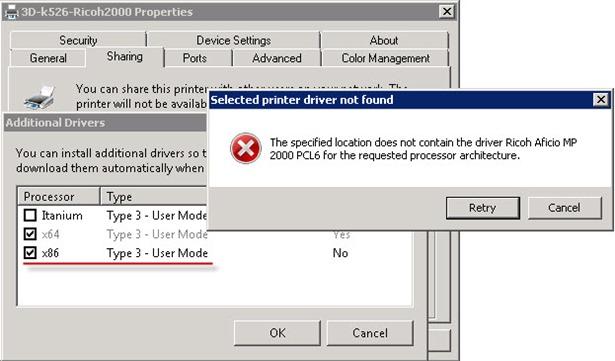 printdrivers 2 thumb Установка 32 битных драйверов для принтера на Windows Server 2008R2 x64