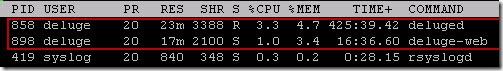 deluge thumb Установка Deluge на Ubuntu Server