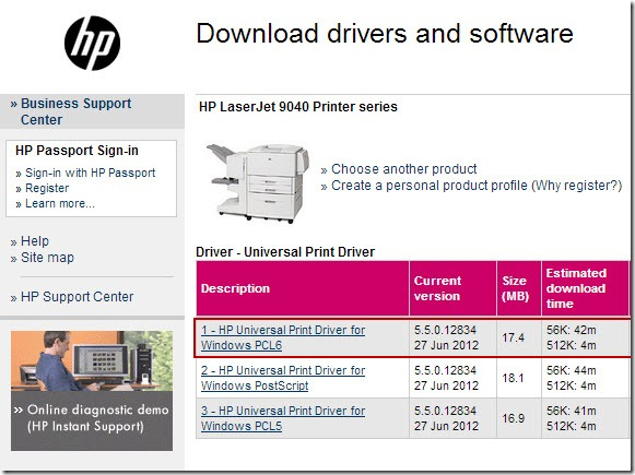 driver hp lj9040 x64 1 thumb Драйвер для HP LaserJet 9040 для Windows 7 x64