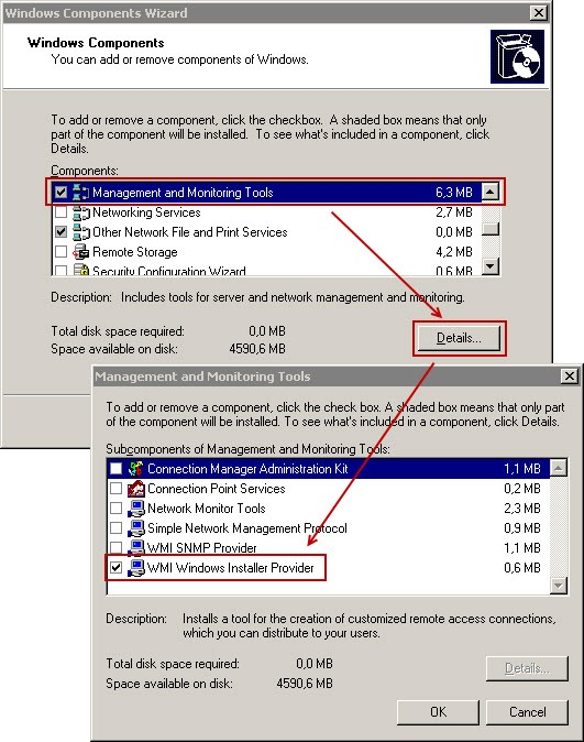 wmi server2003 enable thumb Установка PowerShell 2.0 на Windows Server 2003