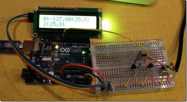 arduino ds18b20 1 thumb [Arduino] Несколько датчиков температуры DS18B20