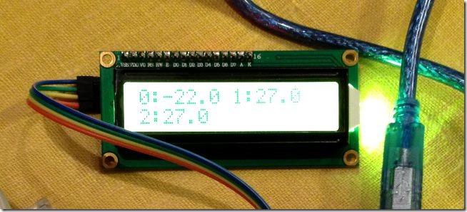arduino ds18b20 4 thumb [Arduino] Несколько датчиков температуры DS18B20