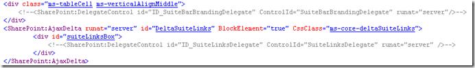 sharepoint suitebar custom masterpage 2 thumb1 Как скрыть элементы управления SharePoint 2013 с помощью мастер страницы