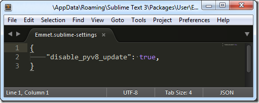 sublime text error pyv8 3 thumb Ошибка загрузки PyV8 при установке Emmet в Sublime Text 3