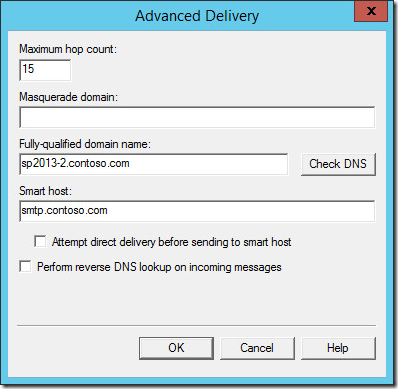 email relay smtp sharepoint2013 9 thumb Отправка почты SharePoint 2013 с авторизацей на SMTP сервере