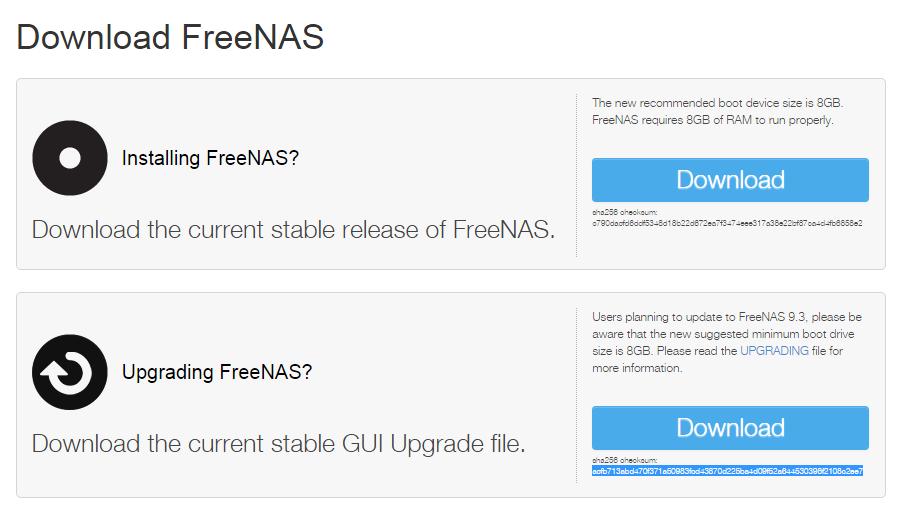 Обновление FreeNAS с версии 8 2 до 9 3 | Блог did5 ru