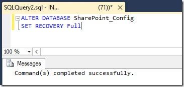 sharepoint reduce sql db log size 11 thumb Как уменьшить размер лог файла базы данных SharePoint 2013