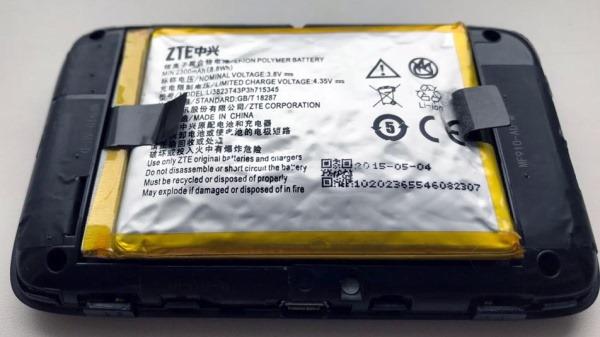 ZTE MF910 1 thumb Замена аккумулятора в 4G роутере ZTE MF910 (Мегафон MR150 2)